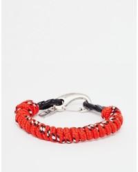 Bracelet rouge Icon Brand