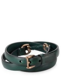 Bracelet vert foncé