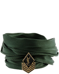 Bracelet vert foncé Saint Laurent