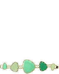 Bracelet vert menthe
