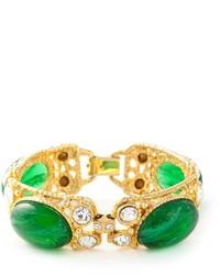 Bracelet vert Moschino
