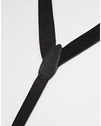 Bretelles noires Asos
