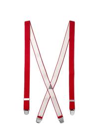 Bretelles rouges Charvet