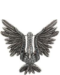 Broche argentée Lanvin