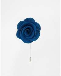 Broche bleue Asos