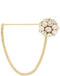 Broche dorée Dolce & Gabbana
