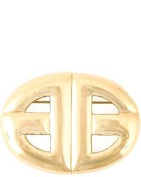Broche dorée Givenchy