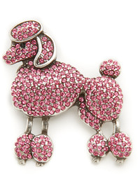 Broche rose Marc Jacobs