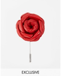 Broche rouge Asos