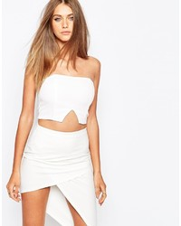 Bustier blanc Missguided