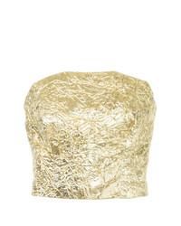 Bustier doré Bambah