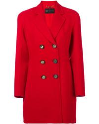 Caban rouge Versace