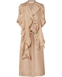 Cache-poussière brun clair Victoria Beckham