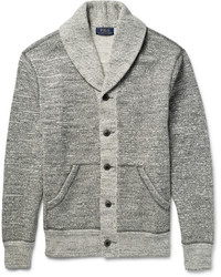 Cardigan à col châle gris Polo Ralph Lauren