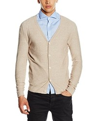 Cardigan beige JACK & JONES PREMIUM