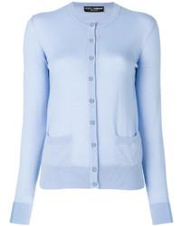 Cardigan bleu clair Dolce & Gabbana
