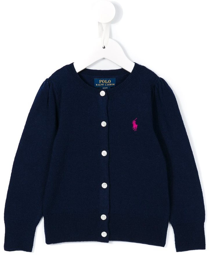 Cardigan bleu marine Ralph Lauren