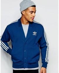 Cardigan bleu adidas