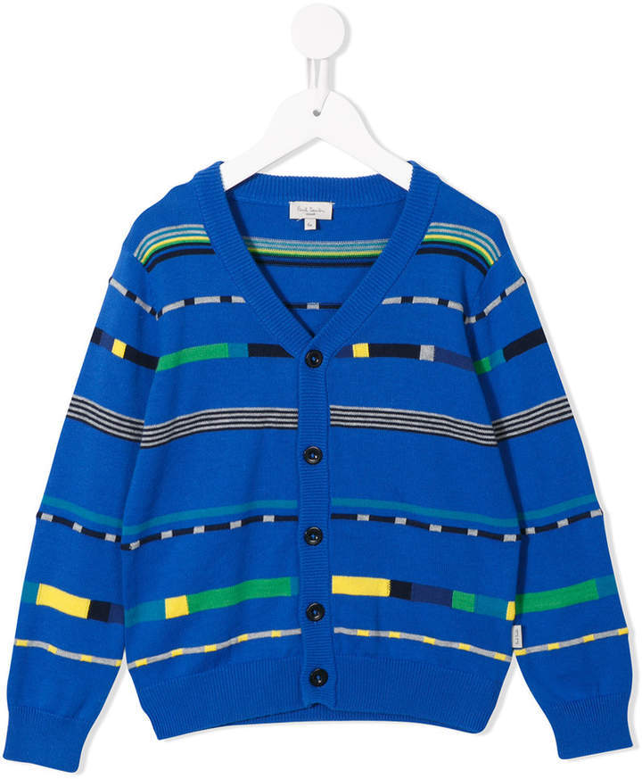 Cardigan bleu Paul Smith