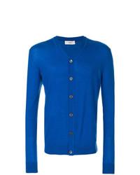 Cardigan bleu Pringle Of Scotland