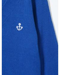 Cardigan bleu Familiar