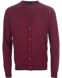 Cardigan bordeaux Lanvin