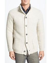 Cardigan en tricot beige