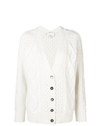 Cardigan en tricot blanc 3.1 Phillip Lim