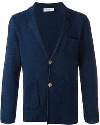 Cardigan en tricot bleu marine Closed