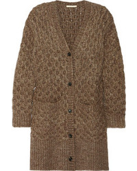 Cardigan en tricot brun Michael Kors