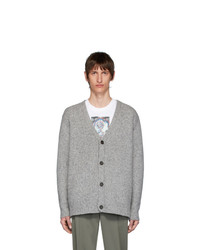 Cardigan en tricot gris Acne Studios