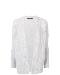 Cardigan en tricot gris Incentive! Cashmere