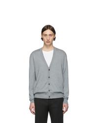 Cardigan en tricot gris Maison Margiela