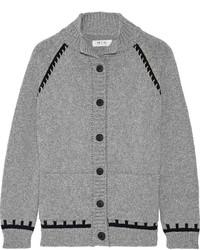 Cardigan en tricot gris MiH Jeans