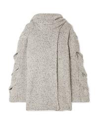 Cardigan en tricot gris See by Chloe