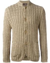 Cardigan en tricot marron clair Etro