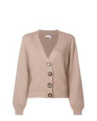 Cardigan en tricot marron clair See by Chloe