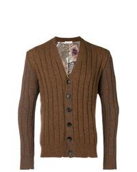 Cardigan en tricot marron Etro