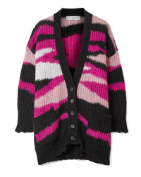 Cardigan en tricot multicolore Valentino