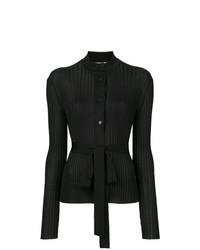 Cardigan en tricot noir Emilio Pucci