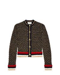 Cardigan en tricot noir Gucci