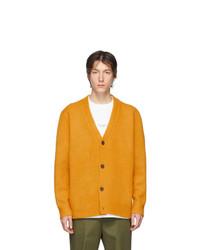 Cardigan en tricot orange Acne Studios