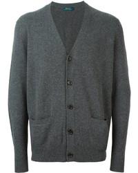Cardigan gris foncé Polo Ralph Lauren