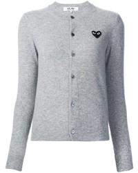 Cardigan gris Comme des Garcons