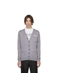 Cardigan gris DSQUARED2