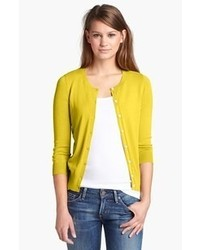 Cardigan jaune original 1340619