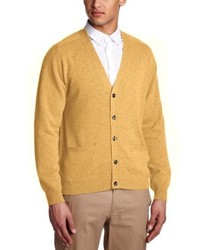 Cardigan jaune Alan Paine