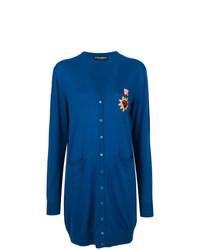 Cardigan long bleu Dolce & Gabbana
