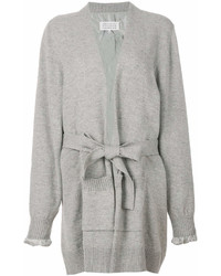 Cardigan long gris Maison Margiela