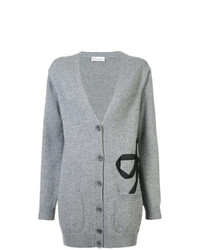 Cardigan long gris RED Valentino